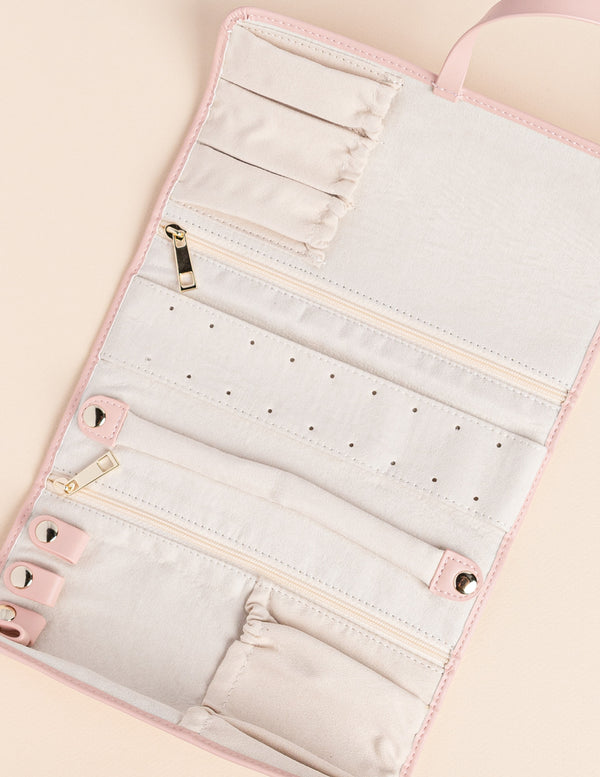 Blush Jewelry Bag