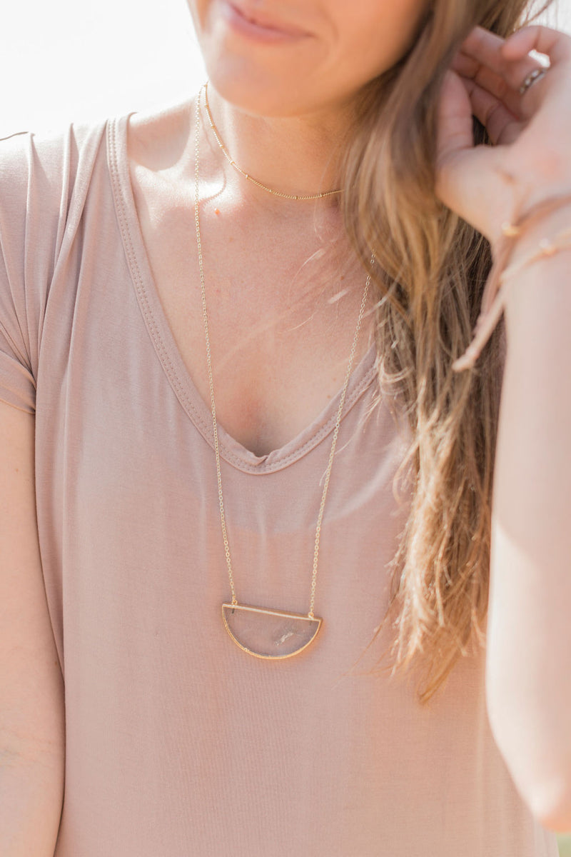 Satellite Choker Diffuser Necklace