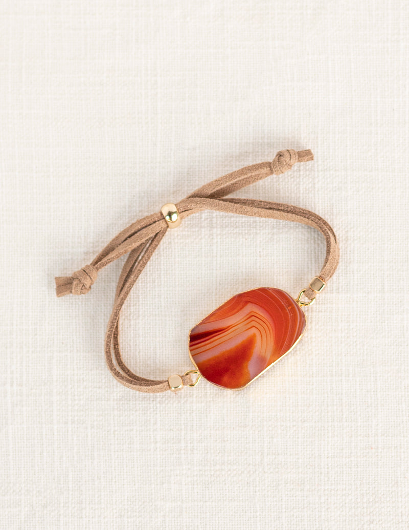 Red Lace Agate Slider Diffuser