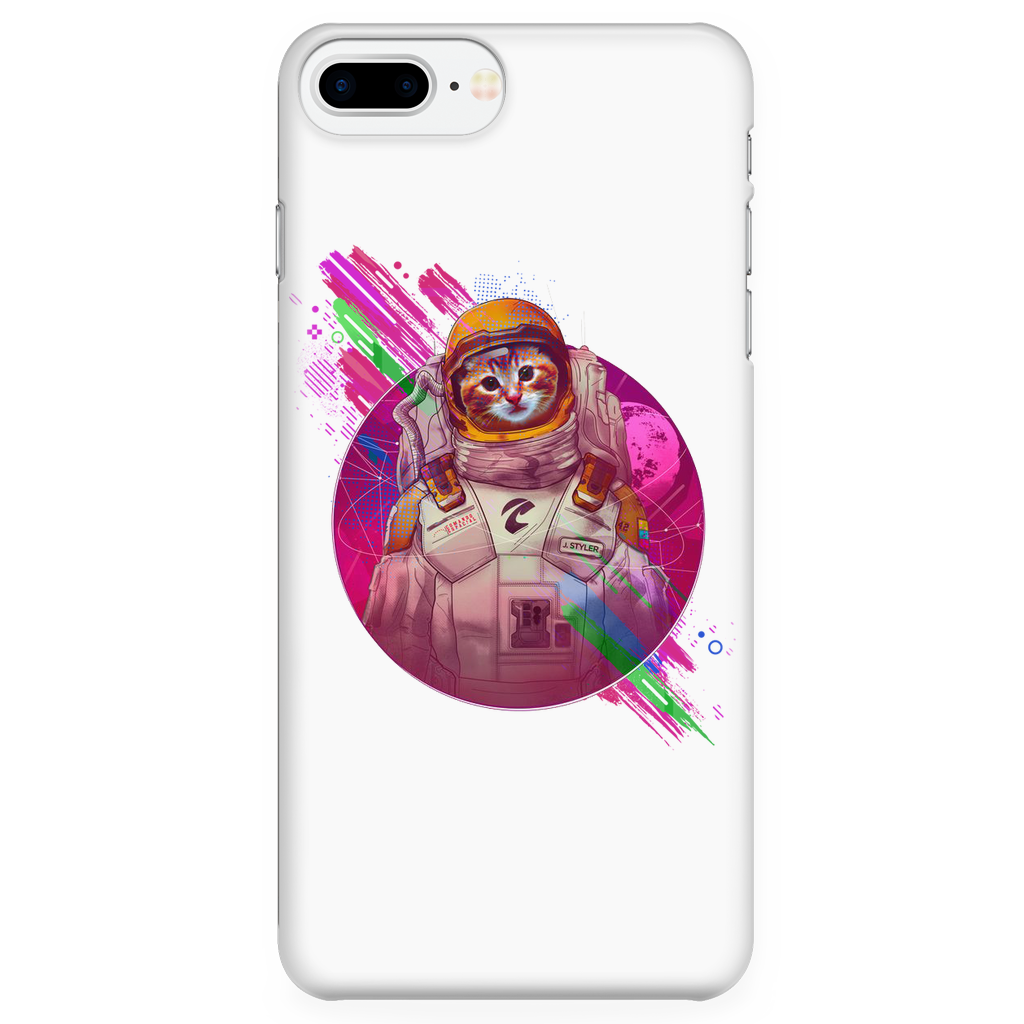 Astronaut Cat iPhone Case for iPhone 7 Plus/7s Plus