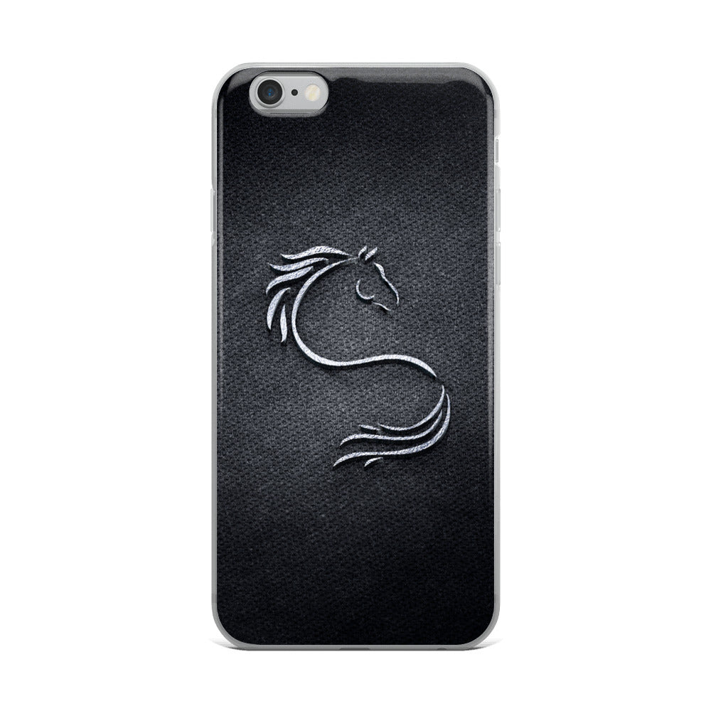 Denim Horse iPhone Case