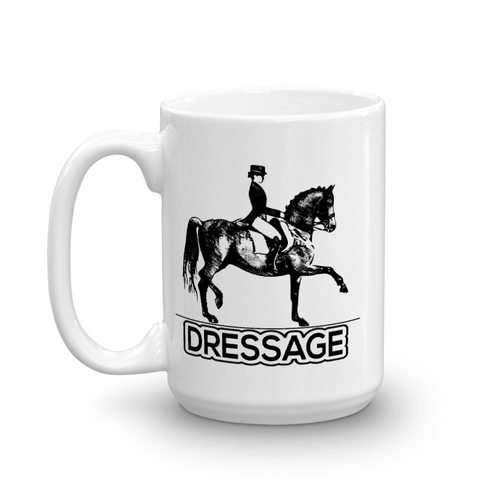 Dressage Mug made in the USA - Wild Pet Styles