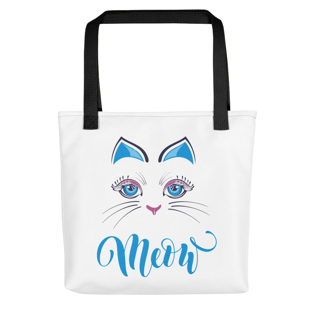 Meow Tote Bag -  Made in the USA