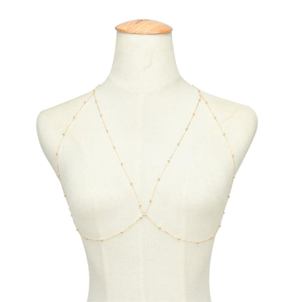 Cross Over Body Necklace
