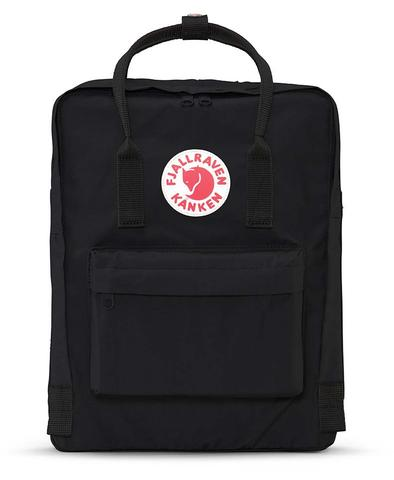 Fjallraven - Kanken Classic Pack, Heritage and Responsibility Since 1960 (Black)