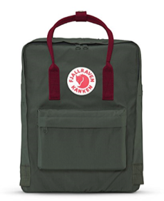Fjallraven - Kanken Classic Pack, Heritage and Responsibility Since 1960(Forest Green-OXRED)