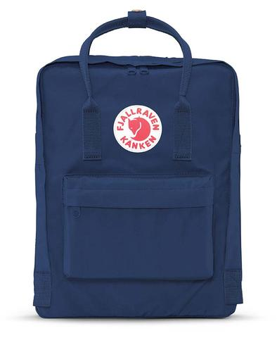 Fjallraven - Kanken Classic Pack, Heritage and Responsibility Since 1960(Royal Blue)