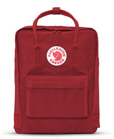 Fjallraven - Kanken Classic Pack, Heritage and Responsibility Since 1960(OX Red)