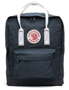 Fjallraven - Kanken Classic Pack, Heritage and Responsibility Since 1960(Navy White)