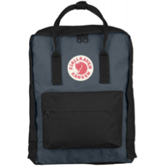 Fjallraven - Kanken Classic Pack, Heritage and Responsibility Since 1960(Black-Graphite)