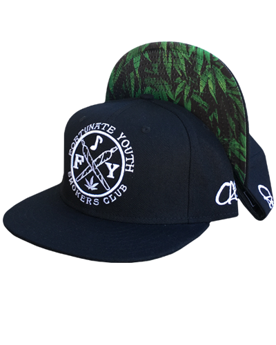 Smokers Club Embroidered Snapback