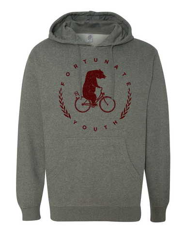 Heather Grey FY Bear Pullover