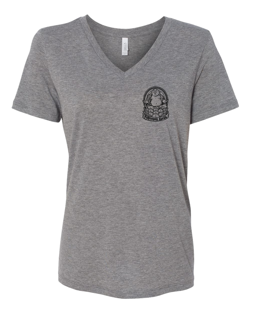 Women's Buddha V-Neck