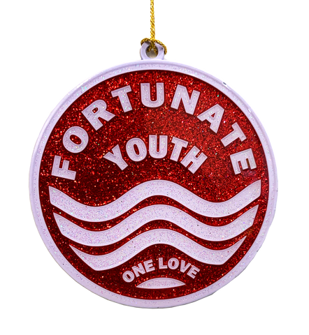 One Love Enamel Ornament