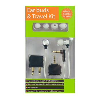 Earbuds + Travel kit