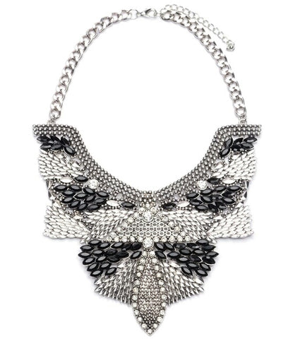 The Angel Wing statement necklace