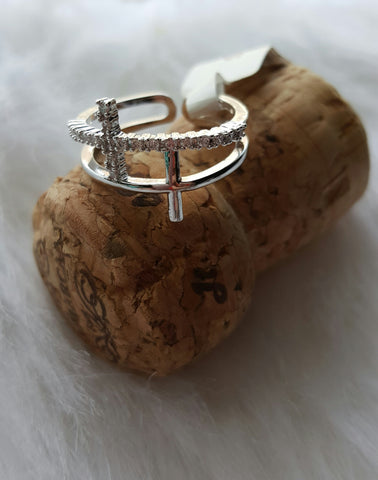 The Double Cross ring