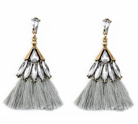 The Sparkle Tassel earring