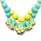 The Ombre statement necklace