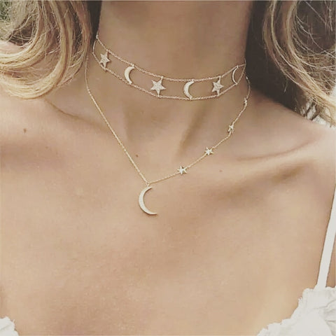 The Summer Moon necklace