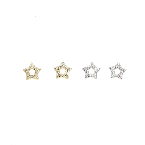The Sweetbella Star earrings