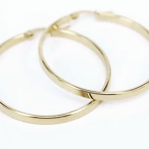 The Simple hoop earring