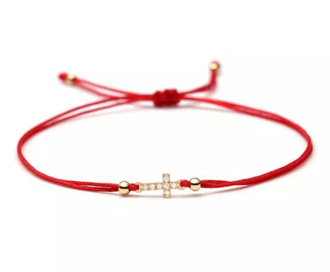The Mini March (Martakia) Cross bracelet
