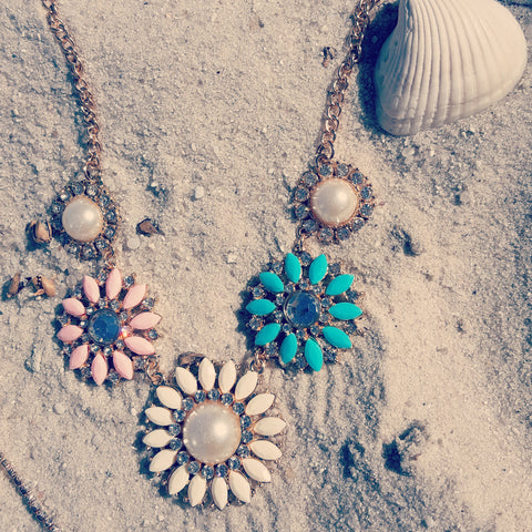 The Pretty Pastel necklace