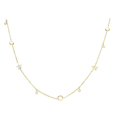 The Sterling Stars necklace