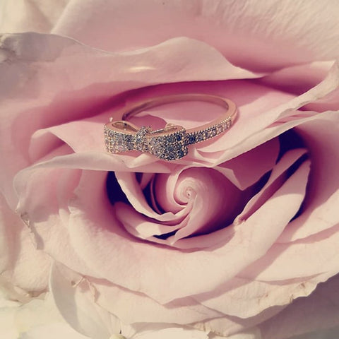 The Sweetest Bow ring