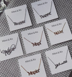 The Personal Touch necklace/ Bracelet