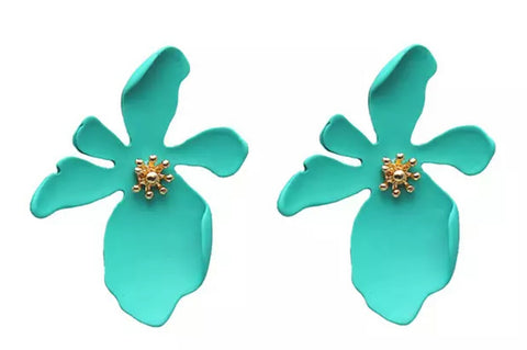 The flower power large earring