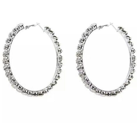 The Glam Hoop earring