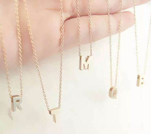 The Mini Initial necklace (PRE ORDER)