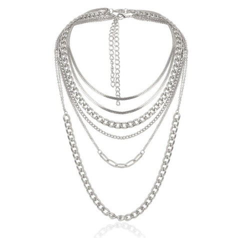 The Multi layer necklace