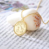 The Double sided Zodiac necklace (Pre Order)