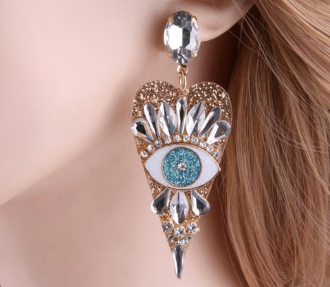 The Mary Mati earring