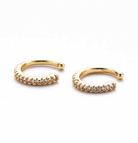 The Precious cuff earring 18k gold filled