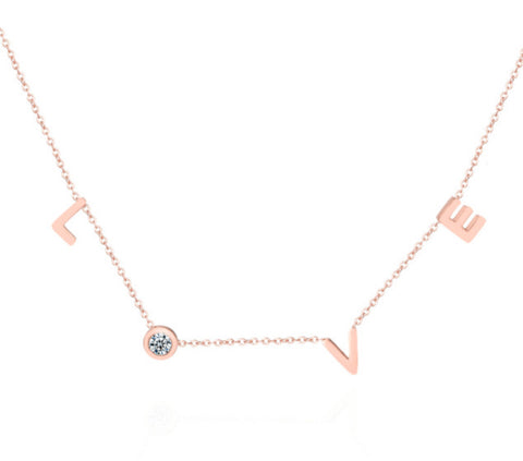 The Agapi necklace