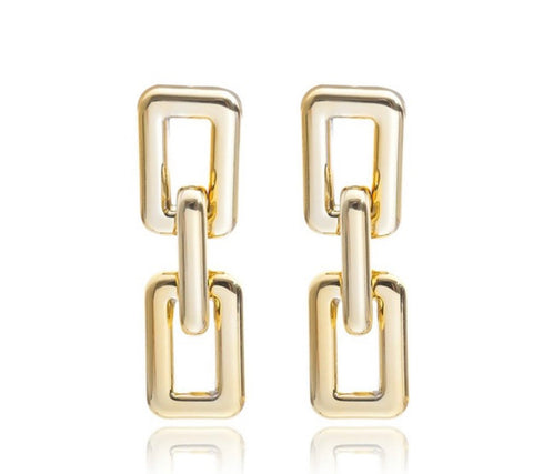 The Chunky link earring
