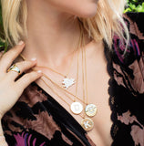 The Spring Initial necklace (pre order)