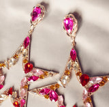 The Starry jewelled earring