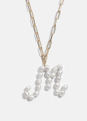 The Pearl initial necklace Pre order