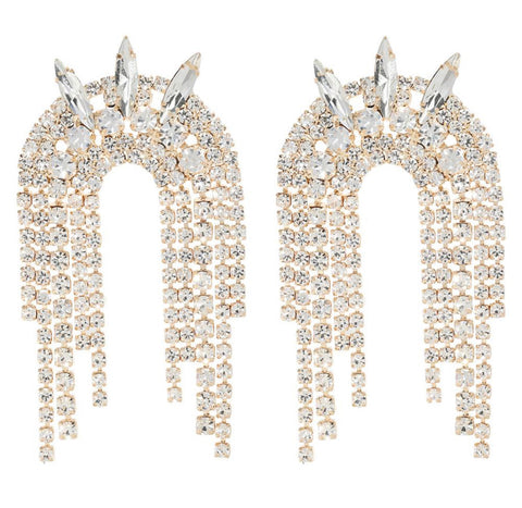 The Spike tassel earring