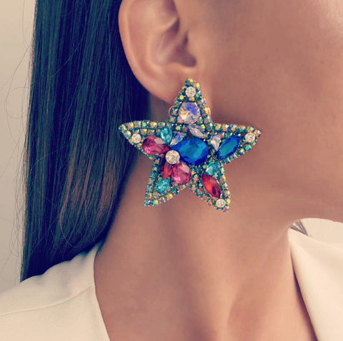 The Star glam earring
