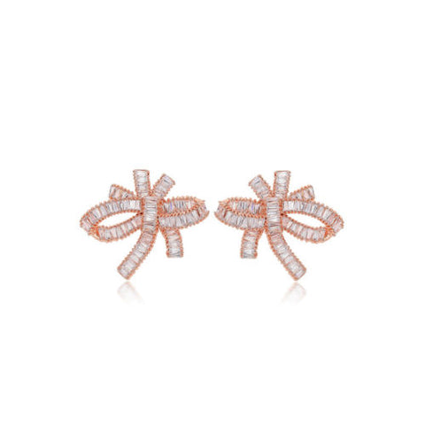The Omega bow earring