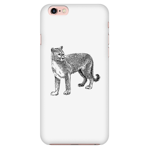 Adorable Cougar Iphone Case