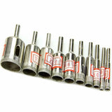 Diamond Coated Hole Drill Bit Set