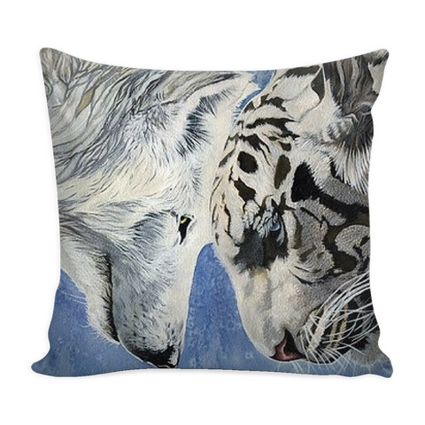 Limited Edition Wolf Vs. Tiger Pillowcase