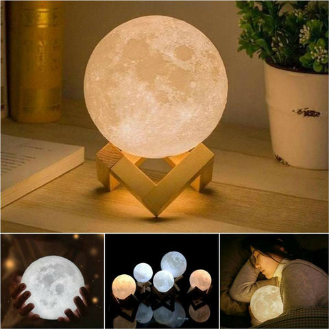 2 More Selena™   The Authentic Moon Nightlight Lamps